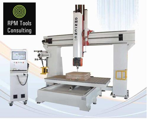 5 Axis Wood Working Machines